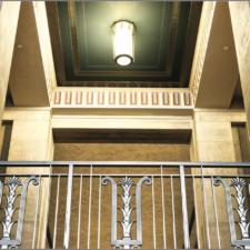 Interior decorative elements, Dept of Justice - Washington DC