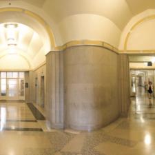 Interior corridors, Dept of Justice - Washington DC