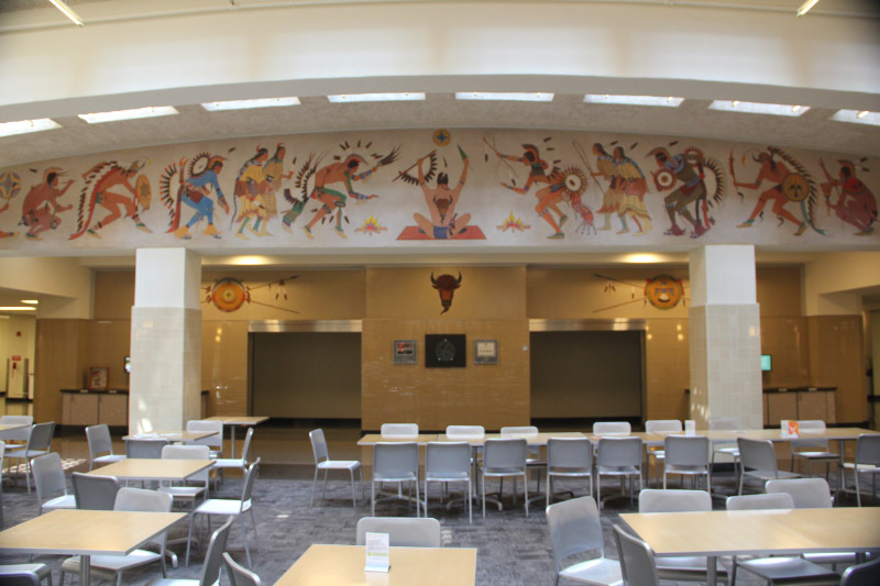 Department Of The Interior Building Mopope Murals Washington Dc