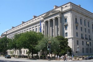 Kennedy Department of Justice building - Washington DC