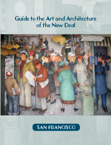 Cover: Guide to the Art and Architecture of the New Deal in San Francisco