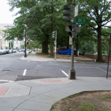 21st Street today, between Virginia Ave and C St.- Washington D