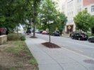 E Street today, between 21st and 22nd streets - Washington DC