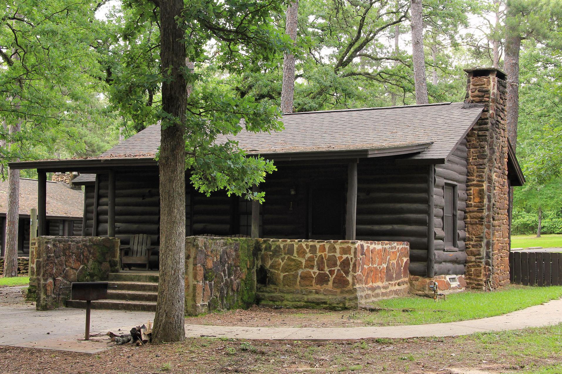 Caddo Lake State Park Cabin 1