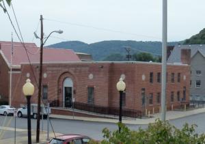 Front side, Post Office - Keyser WV