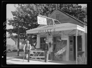Bait Seller, Key West, Florida, 1938