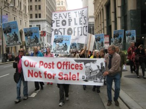 Post Office Protest