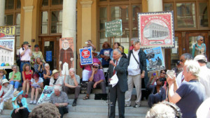 Demonstration to Save the Berkeley Post Office