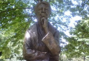 Bronze Statue of Eleanor Roosevelt