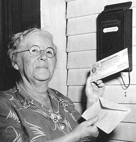 Ida May Fuller, 1940