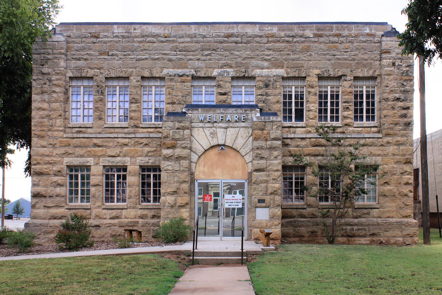 Taylor County Welfare Office - Abilene TX - Living New Deal
