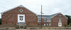 Carthage Elementary School (former) - Carthage MS - side and rear