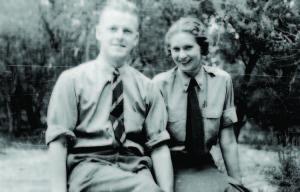 Elizabeth and Eugene Kingman Mesa Verde, 1938