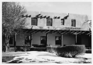 The Old Santa Fe Trail Building, 1937