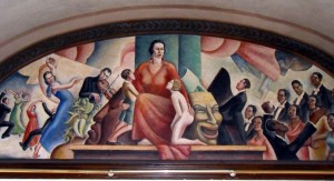 The Arts mural by Tabor Utley