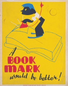 The New Deal cared a lot about books--producing, consuming, maintaining them.