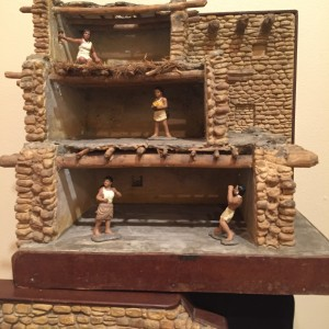 CWA model of an ancient Puebloan dwelling