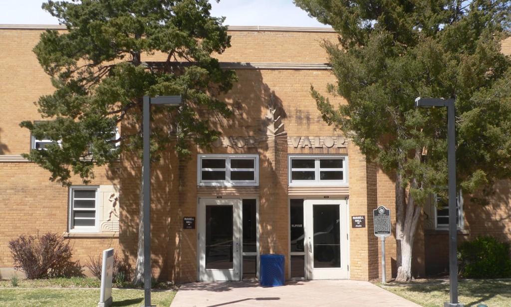 Amarillo College Russell Gymnasium Amarillo Tx Living New Deal