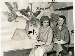 WPA artists Helen Forbes and Dorothy Puccinelli