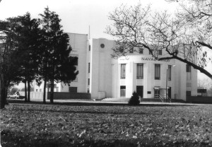 Indianapolis' Naval Armory, soon to reopen as a school.
