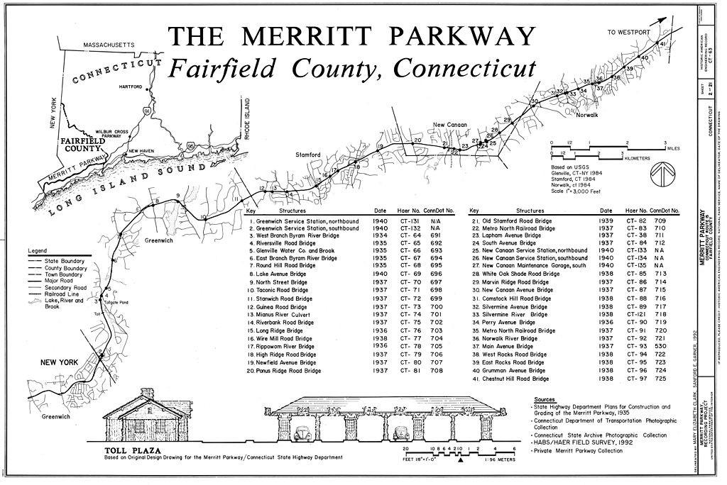 Merritt Parkway - Fairfield County CT - Living New Deal