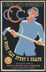 Civilian Conservation Corps recruitment poster