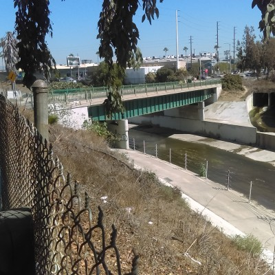 Higuera St. Bridge over Ballona Creek