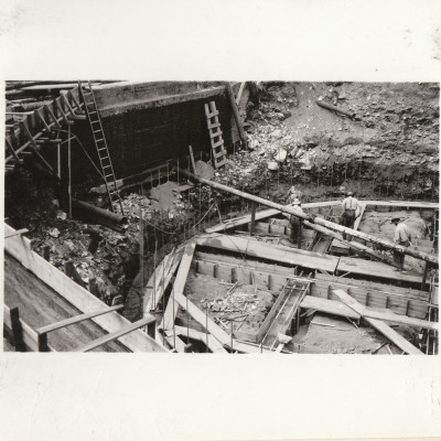 Rathdrum Reservoir construction
