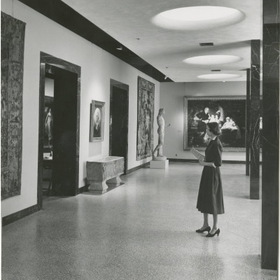 Old Raleigh North Carolina Museum of Art, c. 1940s