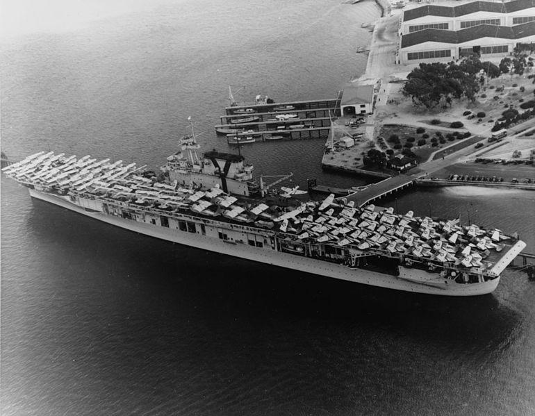 USS Yorktown (CV-5) - North Pacific Ocean - Living New Deal