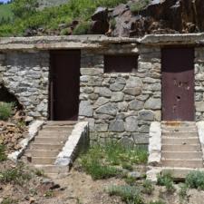Abandoned stone restroom - Alta U
