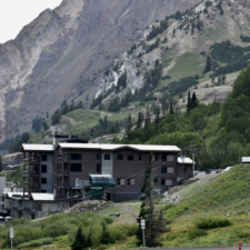 New Snowpine Lodge, looking west - Alta UT
