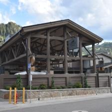 Entrance to new Snowpine Lodge - Alta UT