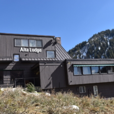 Alta Lodge today - West face