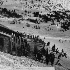 Shelter, later Snowpine Lodge, c. 1940 - Alta UT