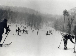 A beginner ski run built by the CCC.