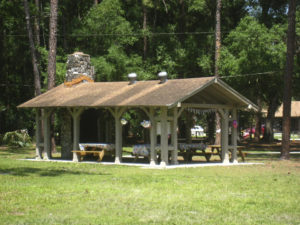 CCC Picnic Shelter at Highlands Hammock SP