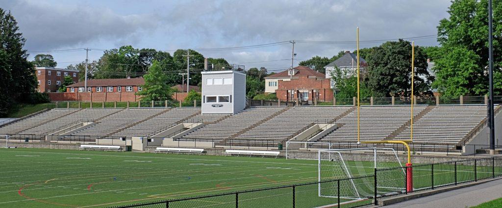 Image result for veterans memorial stadium quincy
