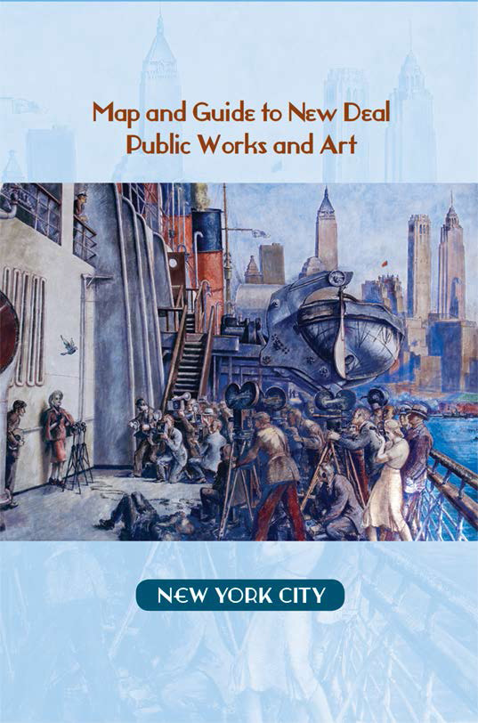 New york city map and guide living new deal the living new deal has just published a map and guide to new deal sites in new york city it covers almost one thousand works of all kinds murals parks gumiabroncs Images