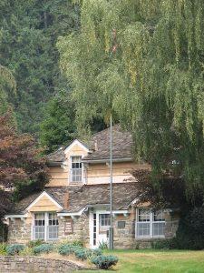 CCC men built the Fenn Ranger Station on the Selway River