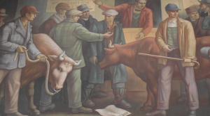 Sandusky, Michigan Post Office mural.