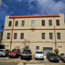 San Juan, American Red Cross building, rear