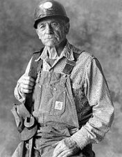 Bridge worker Alfred Zampa,1987