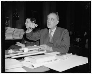 Henry Alsberg, Director of the Federal Writers' Project Testifying at House UnAmerican Activities Committee hearing, 1938