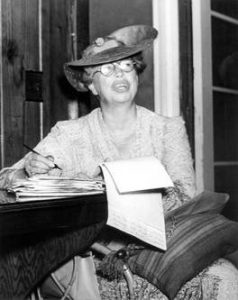 Mrs. Roosevelt , journalist