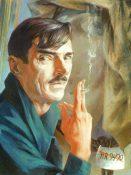 Victor Arnautoff, Self Portrait, c:1950