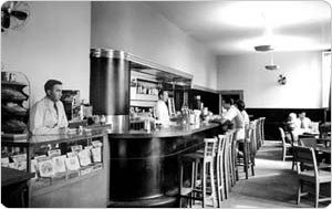 Original concession stand. The concession stand as it appeared in 1940