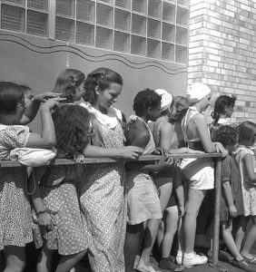 Girls' Line at Betsy Head Recreation Center, 1939