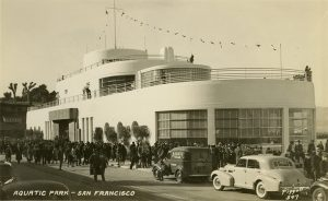 WPA Aquatic Park Bathhouse, Opening Day, January 22,1936