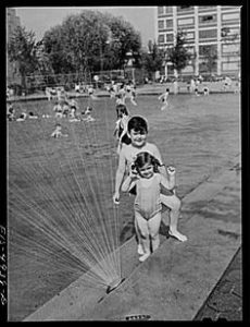 Children at Red Hook Pool, 1936